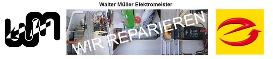 Walter Müller, Elektromeister, 35606 Solms, Hollmannstrasse 13
